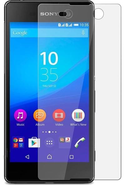 Etech Sony Xperia M5 Glass Ekran Koruyucu