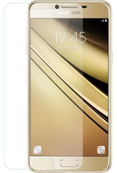 Etech Samsung Galaxy C5 Glass Ekran Koruyucu