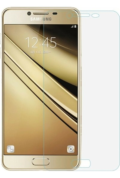 Etech Samsung Galaxy C7 Glass Ekran Koruyucu
