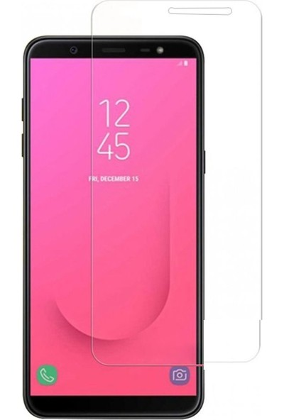 Etech Samsung Galaxy J6 Glass Ekran Koruyucu