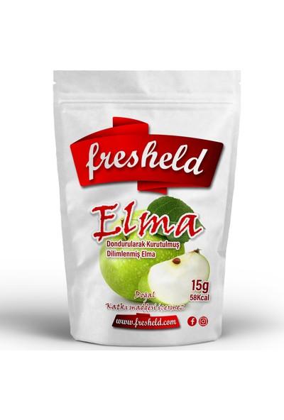 Fresheld Dondurularak Kurutulmuş Dilimlenmiş Elma 15 gr