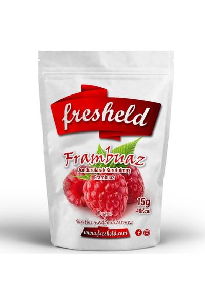 Fresheld Dondurularak Kurutulmuş Frambuaz 15 gr