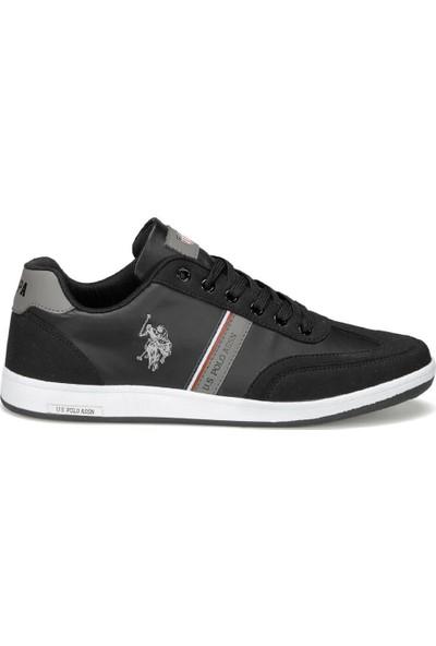 U.S. Polo Assn. Kares Wt 9Pr Siyah Erkek Spor Ayakkabı