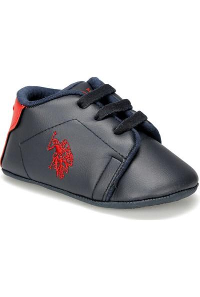 U.S.Polo Assn. Lacivert Bebek ilk Adım Ayakkabı Spor 100429190 9F Franco 9Pr Laci