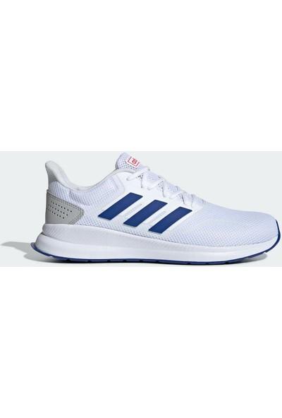 Adidas Runfalcon Beyaz Erkek Koşu Ayakkabısı