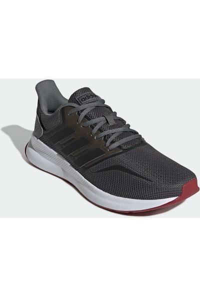 Adidas Runfalcon Koyu Gri Erkek Koşu Ayakkabısı