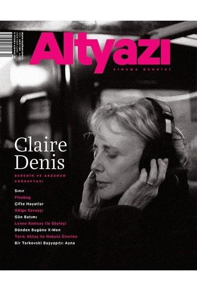 Altyazı Dergisi 18 Mayıs - Haziran 2019