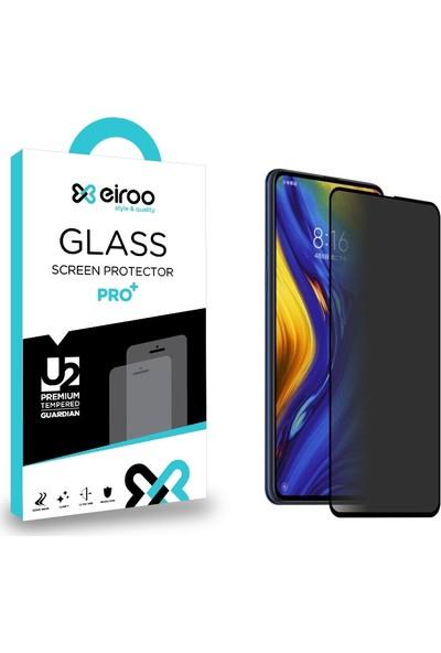 Eiroo Xiaomi Mi Mix 3 Curve Privacy Tempered Glass Cam Ekran Koruyucu