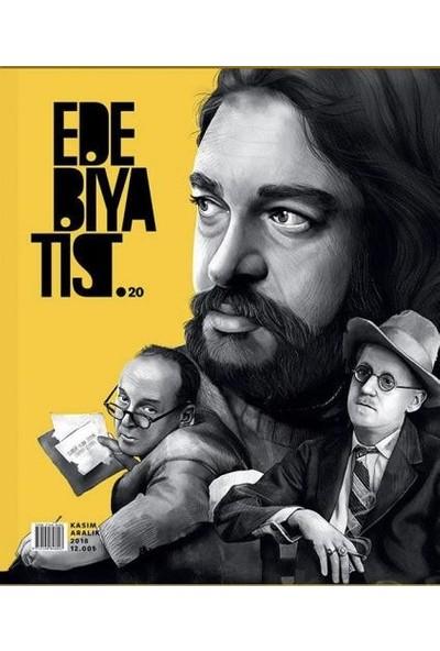 Edebiyatist Dergisi 20 Kasım - Aralık 2018