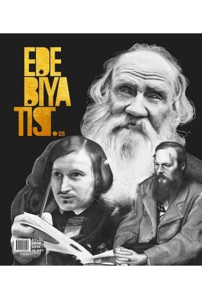Edebiyatist Dergisi 25 Eylül - Ekim 2019