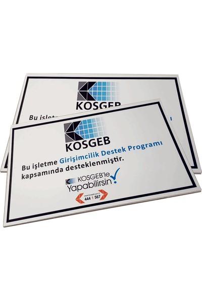 Umut Reklam Kosgeb Destek Programı Tabelası (Kompozit)