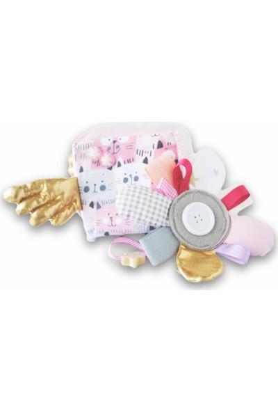 Kiduga Montessori Bebek & Çocuk Küpü Rosa Antialerjik Zeka & Beceri Geliştirici