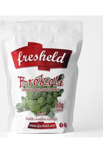 Fresheld Dondurularak Kurutulmuş Brokoli 50 gr