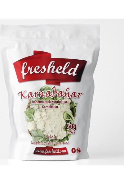 Fresheld Dondurularak Kurutulmuş Dilimlenmiş Karnabahar 50 gr