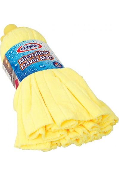 Ceymop Mikrofiber Havlu Mop Sarı