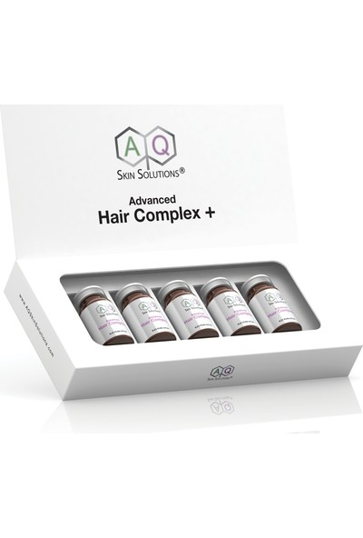 Aq Skin Solutions Gelişmiş Saç Kompleksi +