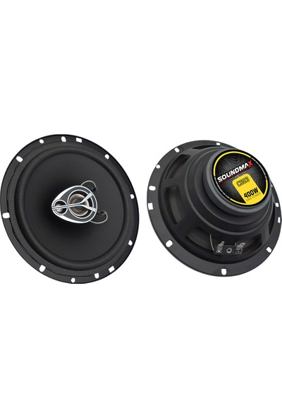 Soundmax Sx-C603 Hoparlör Maksimum Güç: 400W 16 Cm 2Li Takım Fiyatıdır