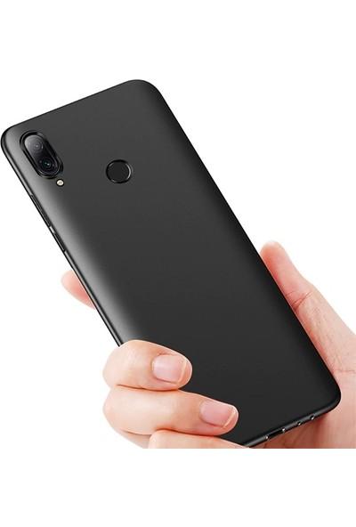 Ally Meizu Note 9 Kamera Korumalı Fit Silikon Kılıf AL-31019 Siyah
