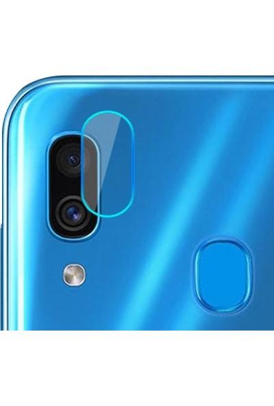 Ally Samsung Galaxy M10 / M20 Yüksek Çözünürlüklü Kamera Lens Koruma Camı AL-31052 Şeffaf
