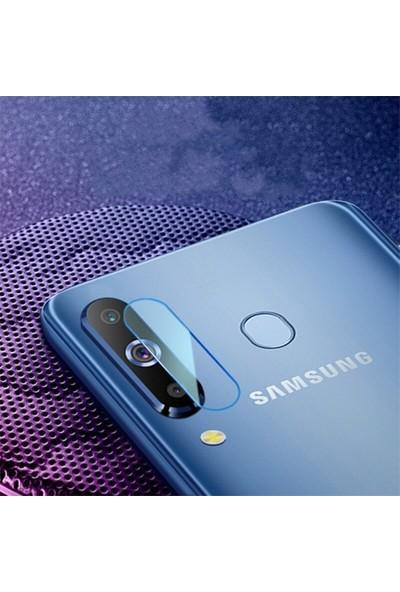 Ally Samsung Galaxy M30 Yüksek Çözünürlüklü Kamera Lens Koruma Camı AL-31048 Şeffaf
