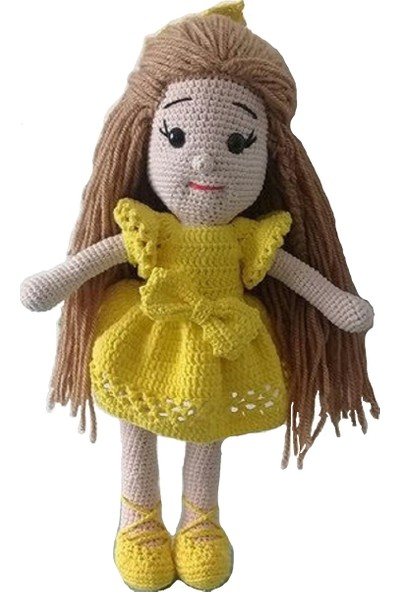 Özgüven Oto Giyim Amigurumi Organik Oyuncak Bebek