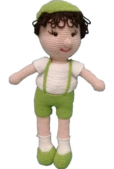 Özgüven Oto Giyim Amigurumi Organik Oyuncak Çiftçi Bebek