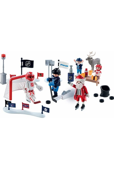 Playmobil Nhl Advent Calendar - Rivalry On The Pond Parçalı Set