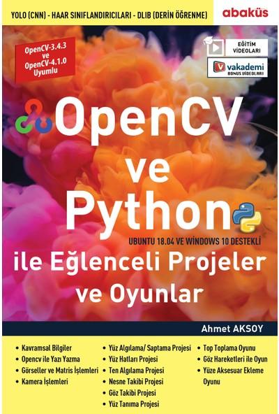 Abaküs Kitap Opencv ve Python ile Eğlenceli Projeler ve Oyunlar (Eğitim Videolu)