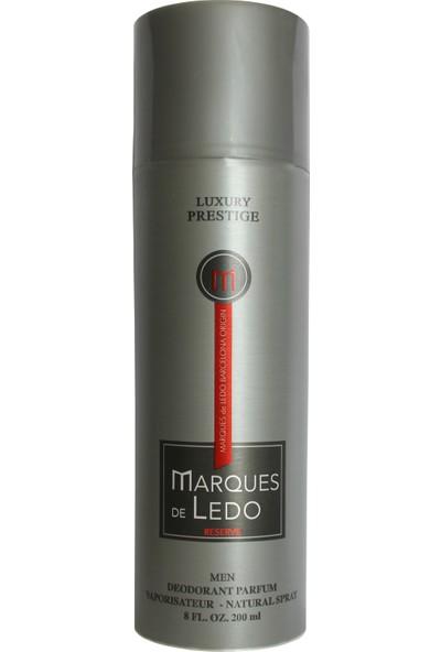 Luxury Prestige Marques De Ledo Parfüm Deodorant 200 ml