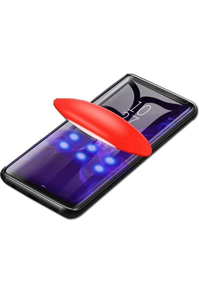 Ally Huawei P20 Pro Full 3D Cam Koruyucu AL-31063 Şeffaf