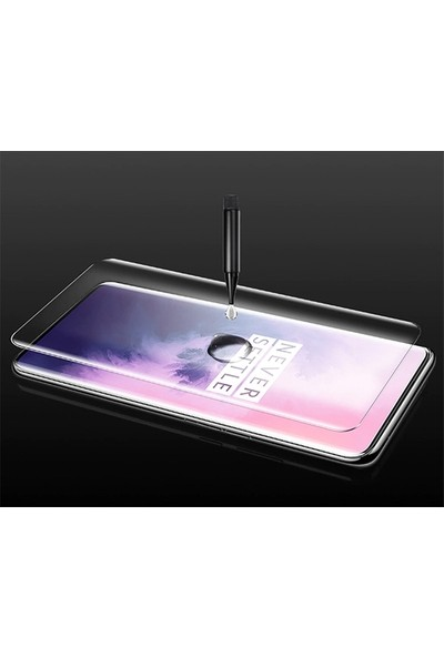 Ally OnePlus 7 Pro Full 3D Cam Koruyucu AL-31062 Şeffaf