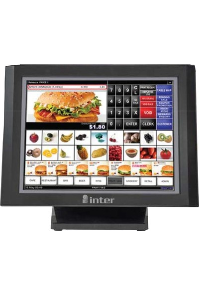 "Inter D150VR 15"" Dokunmatik LCD Monitor Resistive"