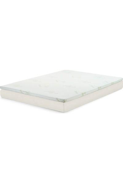 Visco 5 Yatak Pedi, Fermuarlı ve Yıkanabilir Kılıflı (Şilte, Döşek)