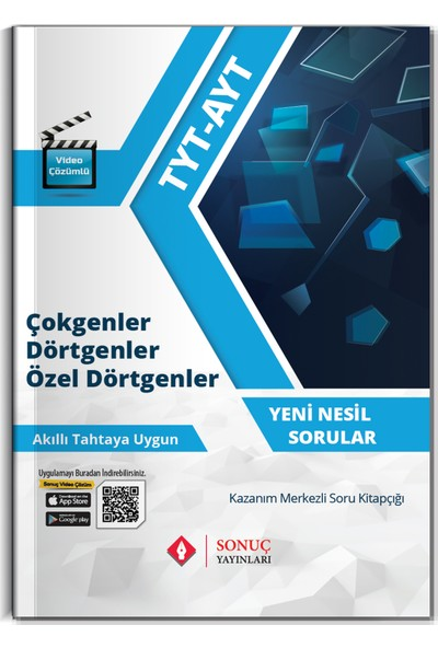 Sonuç Yayınları TYT-AYT Çokgenler Dörtgenler Özel Dörtgenler 2021
