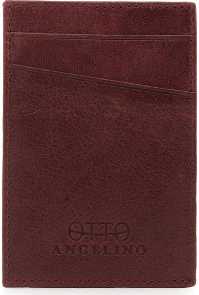Otto Angelino Otto OT88 Hakiki Deri Cüzdan Unisex Tasarım