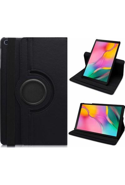 """Engo Samsung Galaxy Tab A 2019 10.1"""" SM-T510 SM-T517 Kılıf Siyah 360 Derece Korumalı (TK001-2591208)"""