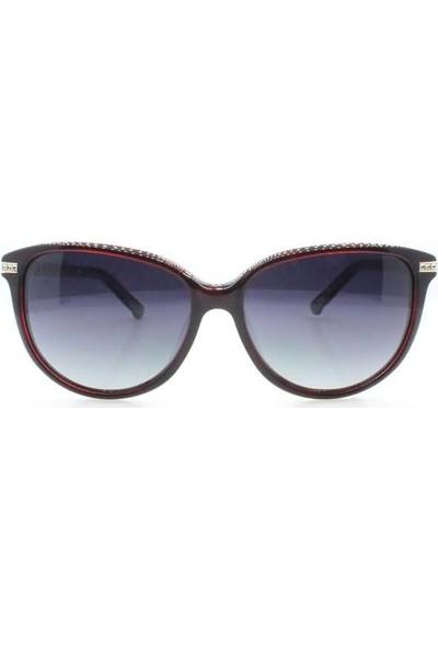 İsve 114 C3 Swarovski Taşlı Polarize Kadın Güneş Gözlüğü