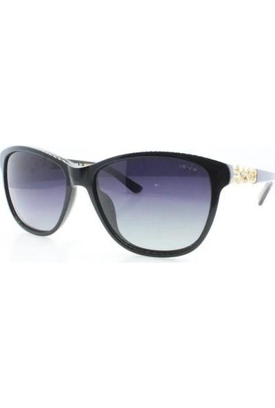 İsve 110 C1 Swarovski Taşlı Polarize Kadın Güneş Gözlüğü