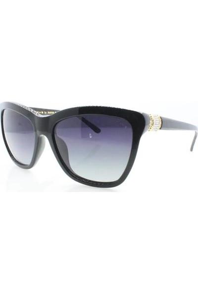 İsve 107 C1 Swarovski Taşlı Polarize Kadın Güneş Gözlüğü