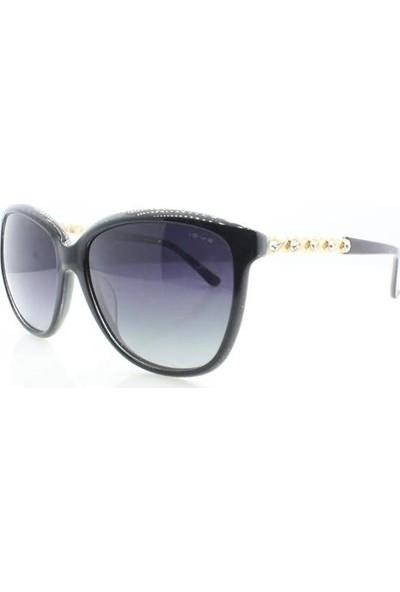 İsve 108 C2 Swarovski Taşlı Polarize Kadın Güneş Gözlüğü