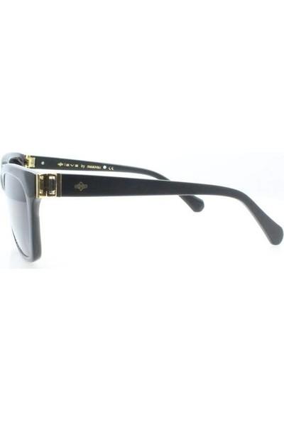 İsve 116 C1 Swarovski Taşlı Polarize Kadın Güneş Gözlüğü