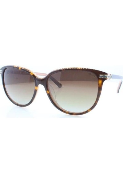 İsve 114 C1 Swarovski Taşlı Polarize Kadın Güneş Gözlüğü