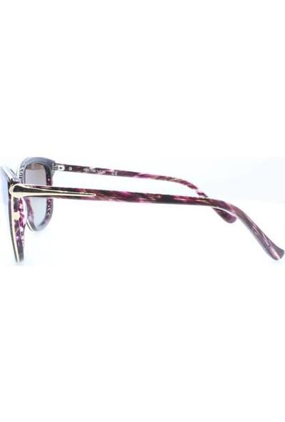 İsve 119 C3 Swarovski Taşlı Polarize Kadın Güneş Gözlüğü