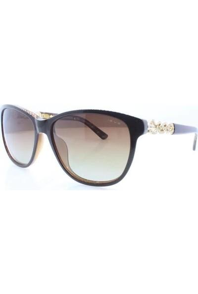 İsve 110 C2 Swarovski Taşlı Polarize Kadın Güneş Gözlüğü
