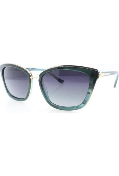 İsve 119 C2 Swarovski Taşlı Polarize Kadın Güneş Gözlüğü