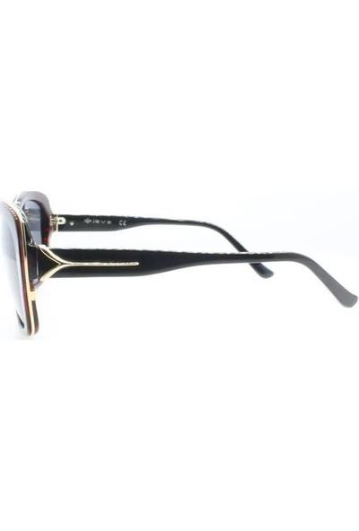 İsve 118 C3 Swarovski Taşlı Polarize Kadın Güneş Gözlüğü