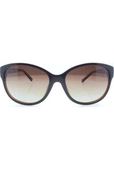 İsve 112 C3 Swarovski Taşlı Polarize Kadın Güneş Gözlüğü