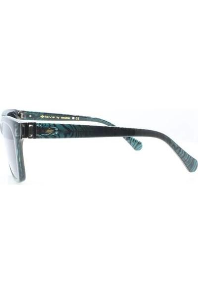 İsve 116 C2 Swarovski Taşlı Polarize Kadın Güneş Gözlüğü