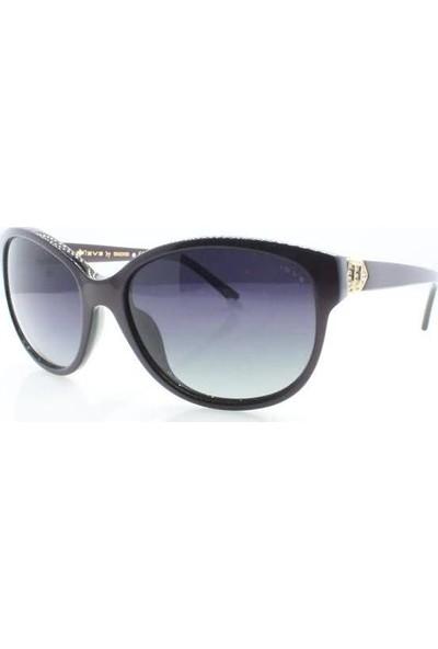 İsve 112 C1 Swarovski Taşlı Polarize Kadın Güneş Gözlüğü