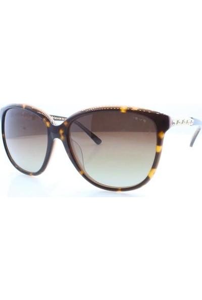 İsve 108 C3 Swarovski Taşlı Polarize Kadın Güneş Gözlüğü